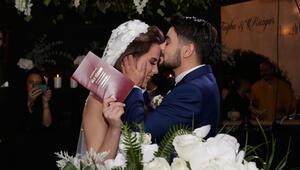 Rüzgar Erkoçlar Tuğba Beyazoğlunun düğün görüntüleri