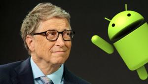 Bill Gates iPhoneu terk etti, Androide geçti