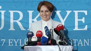 Meral Akşener İstanbulda basın toplantısı düzenledi