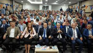 Biga AK Partide Ahmet Şahin güven tazeledi
