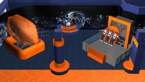 Uzay Kampında sanal gerçeklik