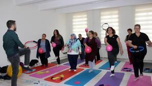 Edirnede kadınlar obezite okulunda zayıflayacak