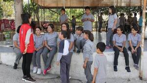 Üniversite öğrencileri Damla Projesi ile Mersinde