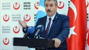 """BBP Genel Başkanı Mustafa Destici,""""MTV zammı geri çekilsin"""""""