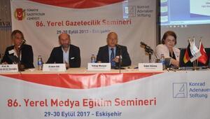 TGCnin Yerel Medya Semineri Eskişehirde başladı