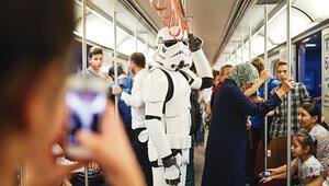Kızılay'da bir Stormtrooper