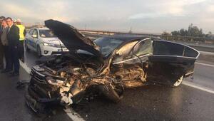 Eskişehirde MHPlileri üzen kaza: 1 ölü, 5 yaralı