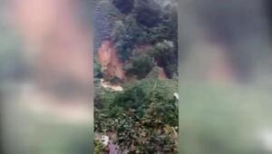 Rize'de şiddetli yağış, 20 ev boşaltıldı (3)