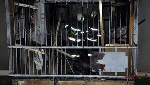 Ankarada çıkan yangında baba ve 2 oğlu yaralandı
