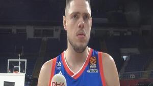 (özel) Anadolu Efesin Sırp oyuncusu Stimac: Hayalim Euroleaguei kazanmak