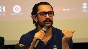 Bollywood yıldızı Aamir Khan: Türkiye'ye geldiğim için çok mutluyum