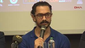 Bollywood yıldızı Aamir Khan yeni filminin tanıtımı için Türkiyeye geldi