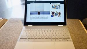 Googleın yeni bilgisayarı sahnede: Google Pixelbook