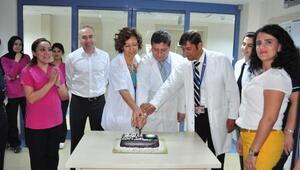 200ncü nakli pasta keserek kutladılar