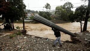 Nate Kasırgası Orta Amerikada 22 kişiyi öldürdü