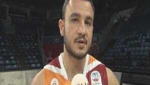 (ÖZEL) Galatasaray Odeabanklı Mehmet Yağmur: Buraya oynamaya geldim