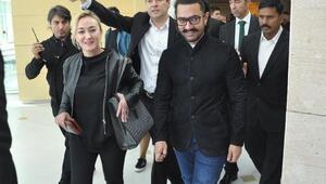 Bollywood yıldızı Aamir Khan Ankarada