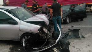 Çorumda kaza 3 yaralı
