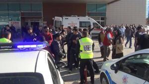 İnegöl'de servis aracı kaza yaptı; 10 yaralı