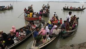 Arakanlı Müslümanları taşıyan tekne battı: 10u çocuk 12 kişi öldü