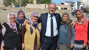 Başkan Gülcüoğlundan mahalle ziyareti