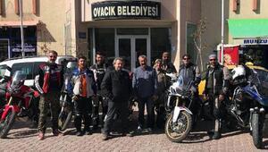 Tunceli Ovacıkta motosiklet festivali düzenleyecekler