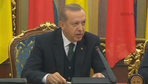 Cumhurbaşkanı Erdoğan Ukraynada konuştu