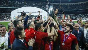 Avrupa Şampiyonu Ampute Milli Takımına özel ödül