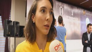 (özel) Vakıfbankın milli pasörü Naz Aydemir Akyol: Hedefimiz bütün kulvarda şampiyonluk