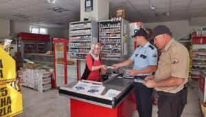 Tut'da polisten broşürlü uyarı