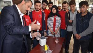 Muş Alparslan Üniversitesinde bilim şenliği