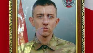 Kaza kurşunuyla şehit olan asker, Konyada toprağa verildi