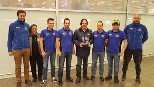 Avrupa Ralli şampiyonları yurda döndü
