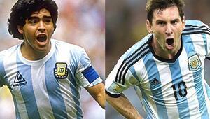 Messi eşeklerle oynuyorsa Maradona kimlerle oynadı