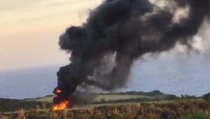 ABD askeri helikopteri Japonya'da düştü