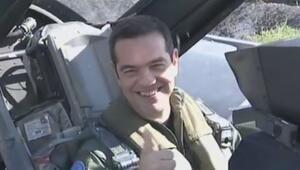 Çipras, F-16 ile Ege'de uçtu