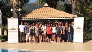 İngiliz turizm acentesi temsilcilerinin ikinci grubu Dalamanda