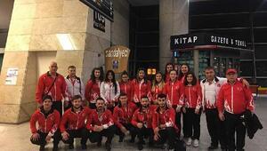 Avrupa Halter Şampiyonasına katılacak olan Gençler ve 23 Yaş Altı Milli Takımı Arnavutluka gitti
