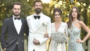 Hande Soral ve İsmail Demirci evlendi... Düğün görüntüleri ortaya çıktı