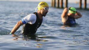Gloria Ironman 70.3 yarışları Antalyada başladı