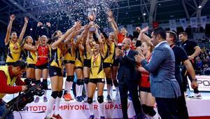 Spor Toto Kadınlar Şampiyonlar Kupası VakıfBankın oldu