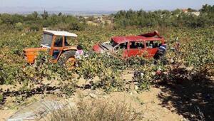 Kızının düğününe giderken kazada öldü, 5 yaralı