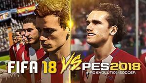 PES 2018 mi FIFA 18 mi Okuyun, en iyisine siz karar verin