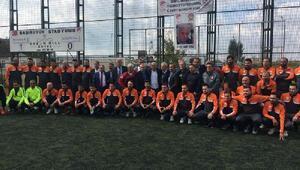 Serpil Hamdi Tüzün adına açılan C Lisans Futbol Antrenörlük Kursu başladı