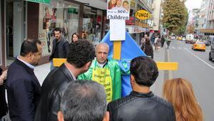 Ankara sokaklarında İsveç protestosu