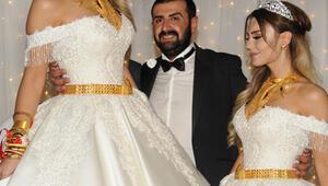 Ünlü ismin kızı evlendi Kilo kilo altın taktılar