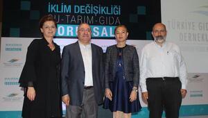 TGDF iklim değişikliği raporunu açıkladı; Mikdat Kadıoğlu Tarım alanlarını ve su havzalarını çakıl taşına kadar korumalıyız