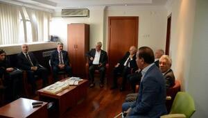 BBP Genel Başkanı Destici, Baykal'ı hastanede ziyaret etti