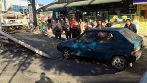 Başkentte çalıntı araçla kaçan iki kişi polis tarafından yakalandı