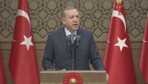Erdoğandan sert sözler: Sen hangi hakla Kerkük benim diyorsun
